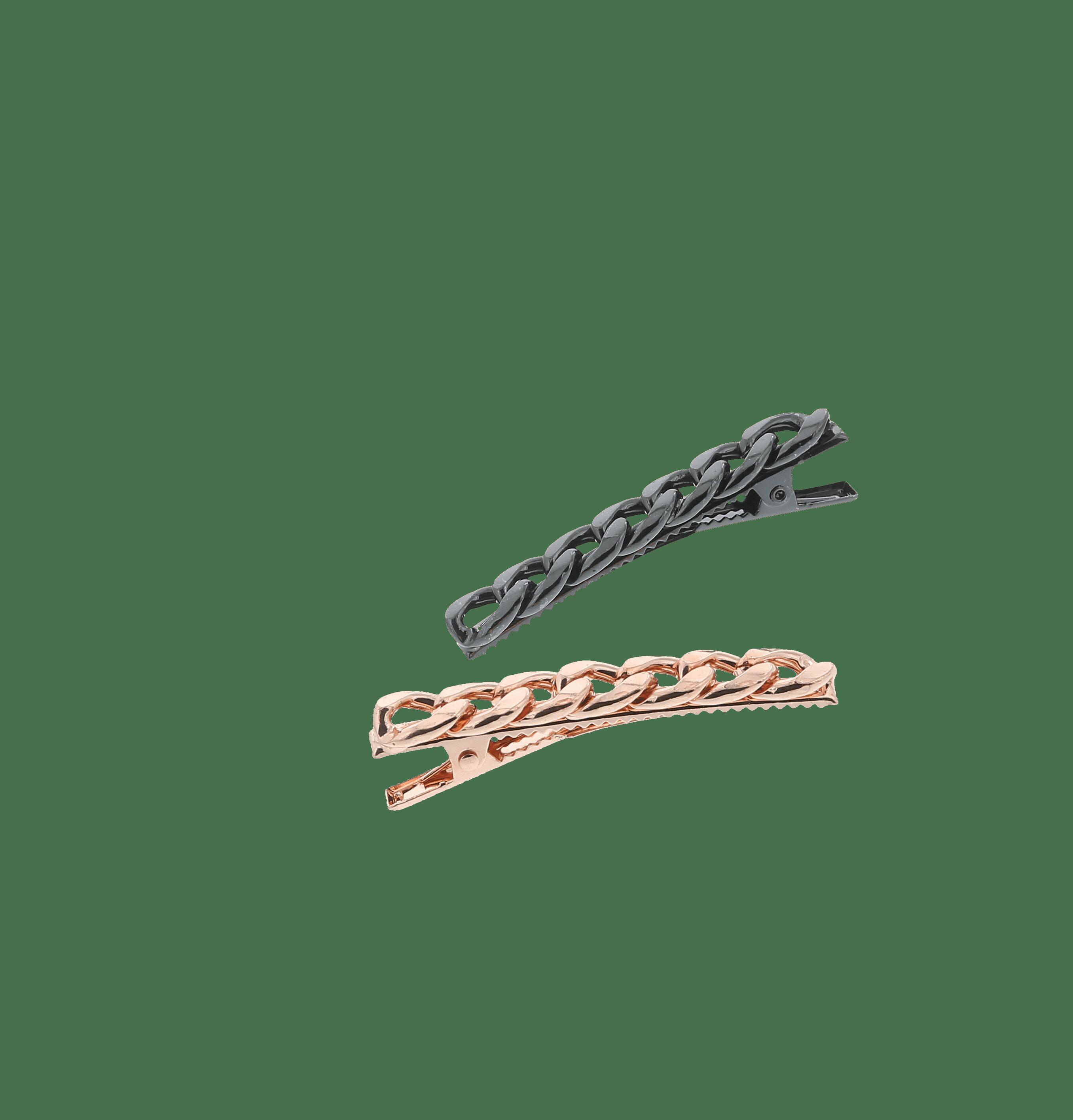 Barrettes chaîne